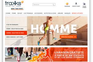 Trakks e-commerce