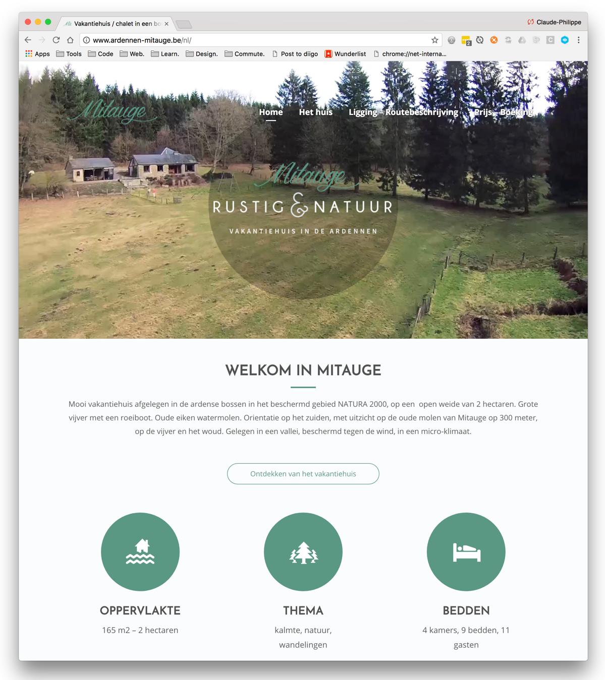 Mitauge – Maison de vacances en Ardenne